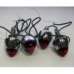 Комплект болтов (4 шт) для крепления номерного знака с лампочками