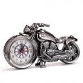 Часы-будильник в виде мотоцикла