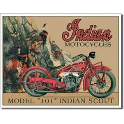 """Знак декоративный металлический """"Indian Motorcycles"""""""