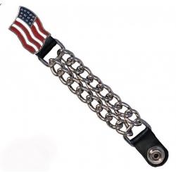 Экстендер для жилета (vеst еxtеndеr) с американским флагом