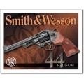 """Знак декоративный металлический """"Smith & Wesson-Magnum 44"""""""