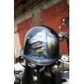 Немецкий шлем с аэрографией