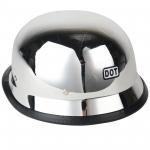 Немецкий шлем хромированный