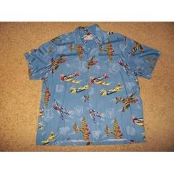 Гавайская рубашка, размер XXL