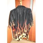 Рубашка с пламенем