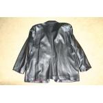 Кожаный пиджак, размер 52-54