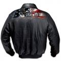 Кожаная куртка Bradford Exchange р.54-56