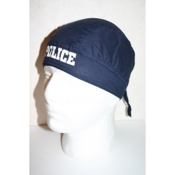 """Бандана """"Полиция"""", темно-синяя"""