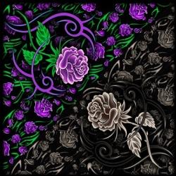 Бандана с цветами