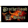"Флаг ""BROTHERHOOD OF BIKERS"""
