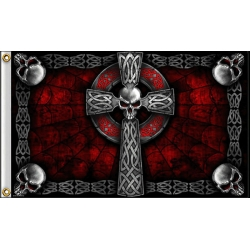 "Флаг ""CELTIC CROSS"""