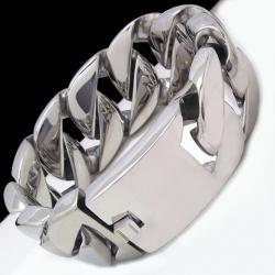 Байкерский браслет из нержавеющей стали