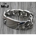 Массивный стальной браслет