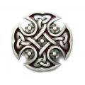 """Пряжка на ремень """"Кельтский железный крест"""""""