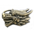 "3D-пряжка на ремень ""Дракон"""