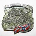 """Байкерская пряжка """"Confederate Army"""""""