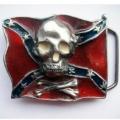 "Пряжка ""Череп и флаг Конфедерации"""