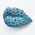 """Пряжка """"Леопардовые губы"""" (синяя эмаль)"""