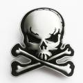 Пряжка «Skull Bones» (с эмалью)