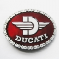 """Пряжка на ремень """"Ducati"""", эмаль"""