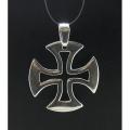 """Серебряная подвеска """"Масонский крест"""""""