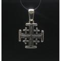 """Серебряная подвеска 925 пробы """"Иерусалимский крест"""""""