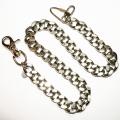 Массивная цепь на джинсы для бумажника / ключей Amigaz