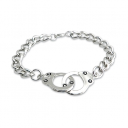 Цепочка на шею с наручниками Amigaz