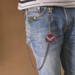 """Цепь для бумажника / ключей """"Confederate Eagle"""""""
