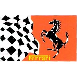"Флаг ""Ferrari"""