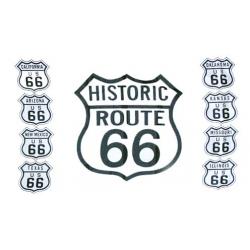 """Флаг """"Route 66"""""""