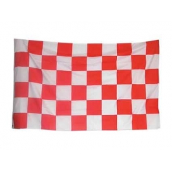Финишный флаг, красный 150 х 90 см.