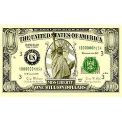 "Флаг ""Миллион Долларов"" 150 х 90 см"