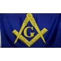 Масонский флаг 150 х 90 см