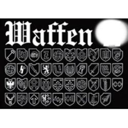 """Флаг """"Waffen"""""""