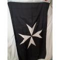 Флаг рыцарей ордена госпитальеров , 150 х 90 см.