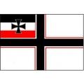 Военный флаг Кайзеровской Германии