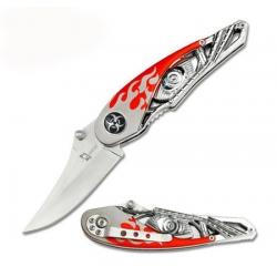 Байкерский нож с В-ТВИНом