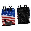 """Кожаные перчатки """"Американский флаг"""""""