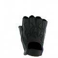 """Кожаные перчатки """"Черное пламя"""""""