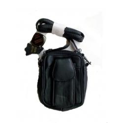 Кожаная сумка на пояс/плечо