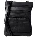 Кожаная сумка через плечо #508