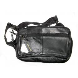 Кожаная сумка через плечо #509