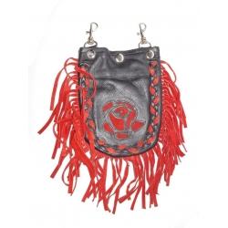Кожаная женская сумка #507