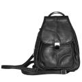 Женский рюкзак/сумка с металлической ручкой