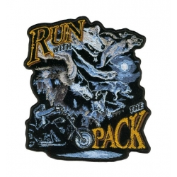 "Нашивка ""Run with the pack"""