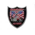 "Нашивка ""Harley Davidson - Лас-Вегас"" 13,5х12 см."