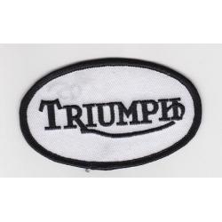 """Нашивка """"Triumph"""" 9х5,5 см"""