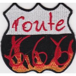 "Нашивка ""Routе 666"""