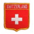 Нашивка флаг Швейцарии